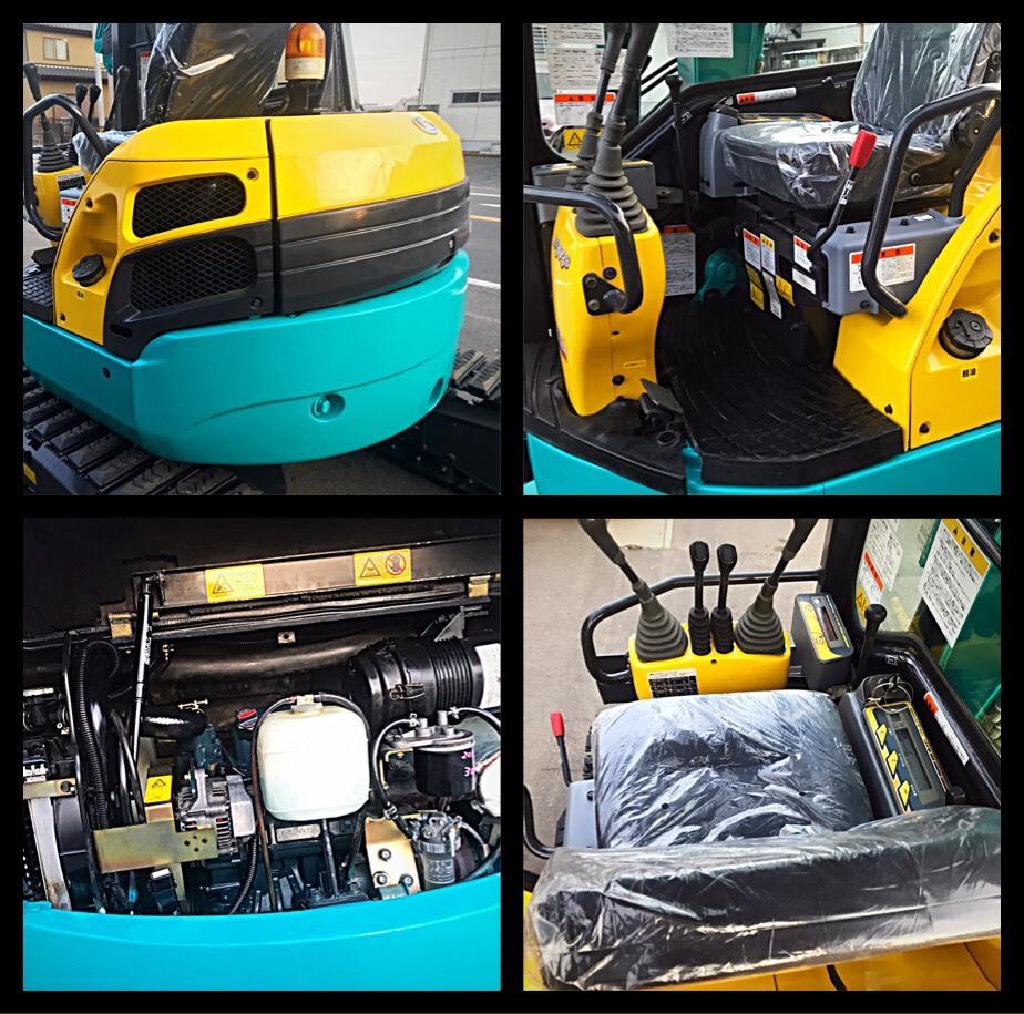 形式 クボタ ミニユンボ ディーゼル車 RX303S型 クレーン仕様 ■1246H マルチレバー有_画像9