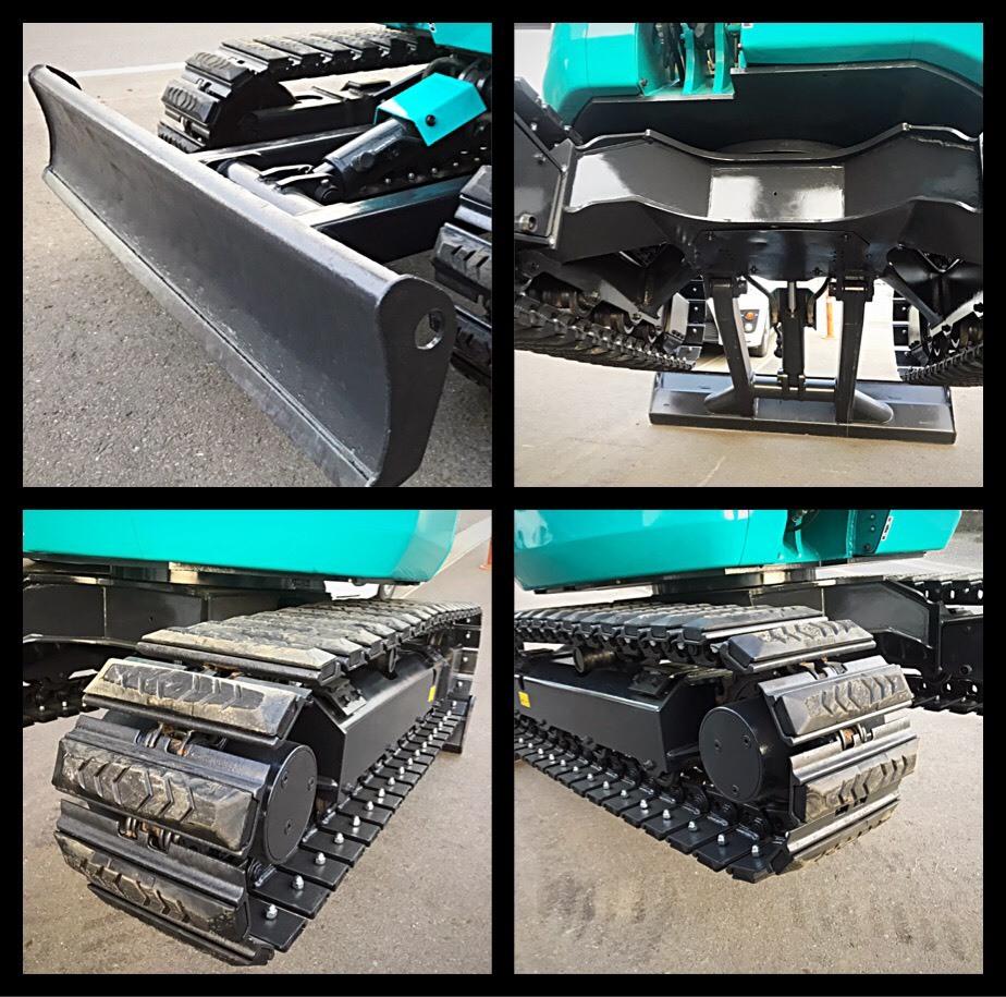 形式 クボタ ミニユンボ ディーゼル車 RX303S型 クレーン仕様 ■1246H マルチレバー有_画像7