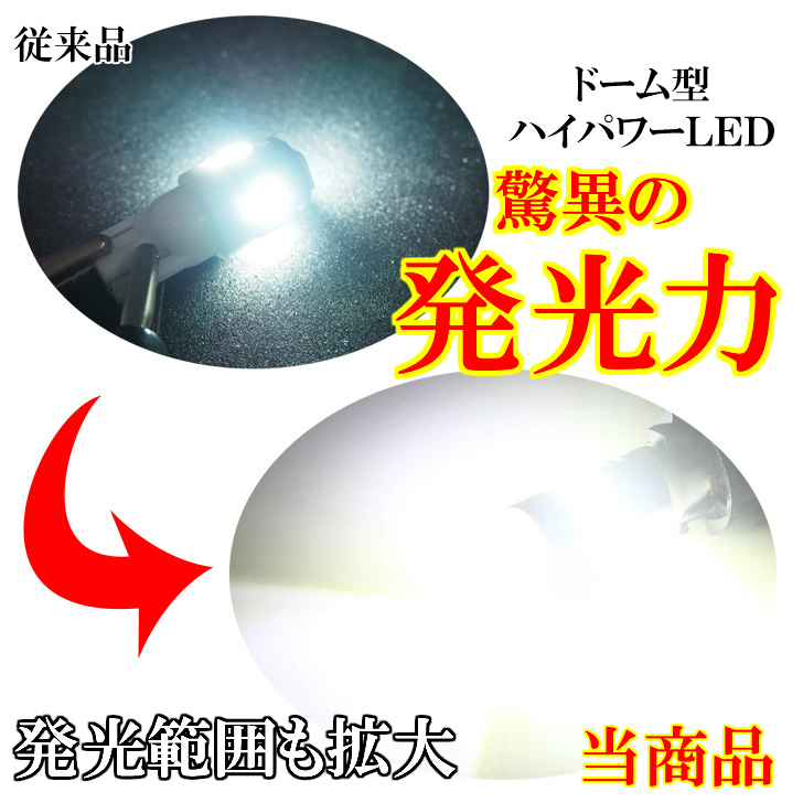 L375S/L385S/LA600S/LA610S タント/タントカスタム CREE 爆光 T16 LED バックランプ ホワイト 汎用 T10 ポジションランプ ナンバー灯_画像3