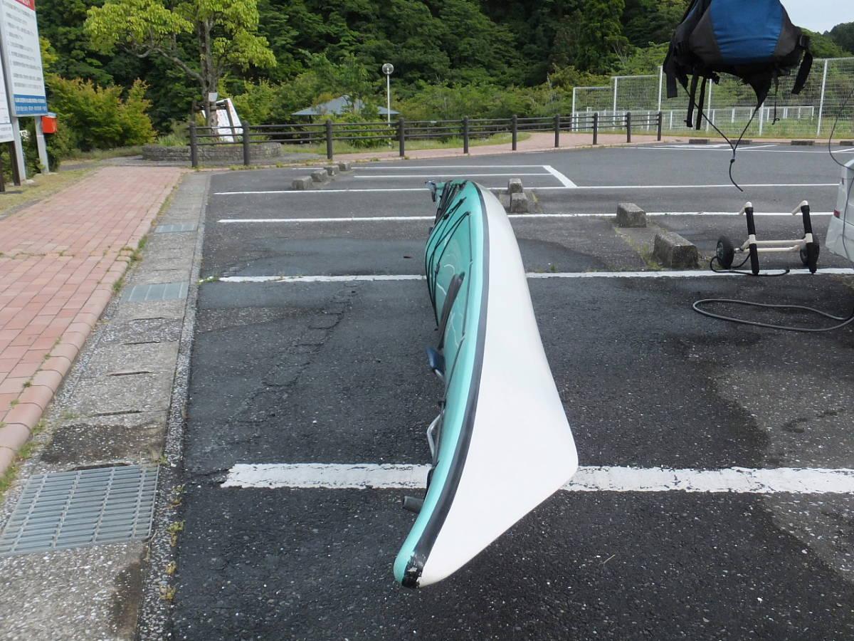 CANOE SPORTS REIDERーX カヌースポーツ レイダー エックス 高速艇 引取り限定_画像4