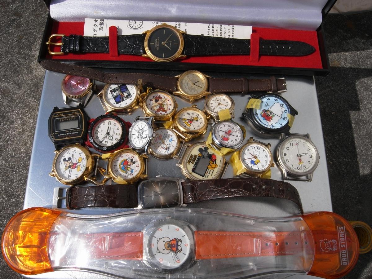古い腕時計 大量 まとめて 320本以上 SEIKO CITIZEN 舶来など 色々 ジャンク扱い_画像9