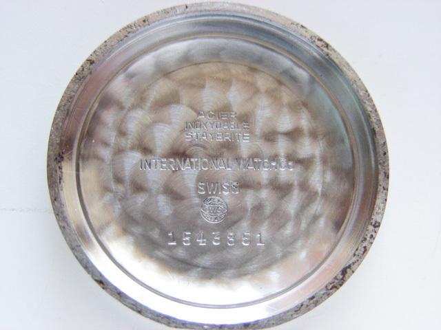 1960年代 IWC SCHAFFHAUSEN CAL.853 自動巻* OH済み _画像7