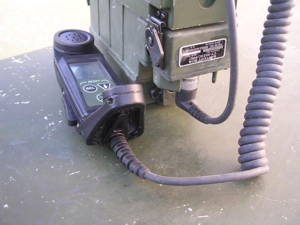 米軍PRC-119用 電池ボックス(リモートハンドセット用)
