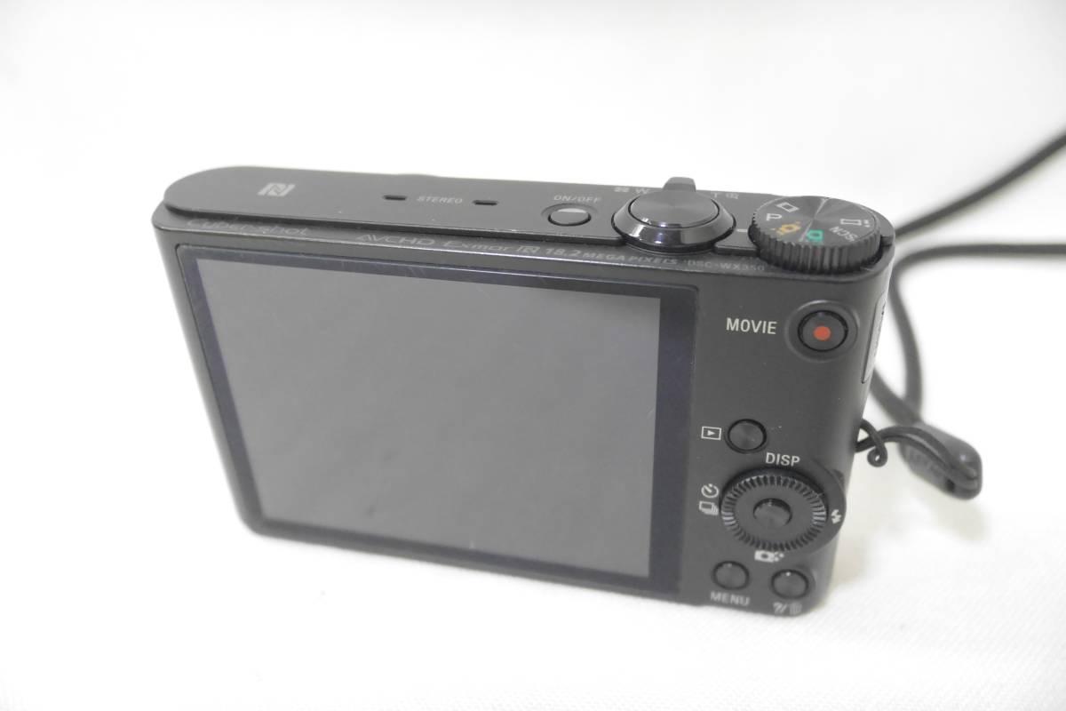 ソニー SONY デジタルカメラ Cyber-shot WX350 光学20倍 ブラック DSC-WX350-B_画像5
