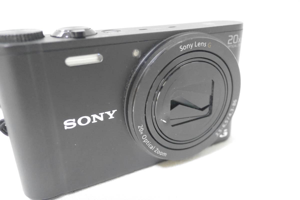 ソニー SONY デジタルカメラ Cyber-shot WX350 光学20倍 ブラック DSC-WX350-B_画像3