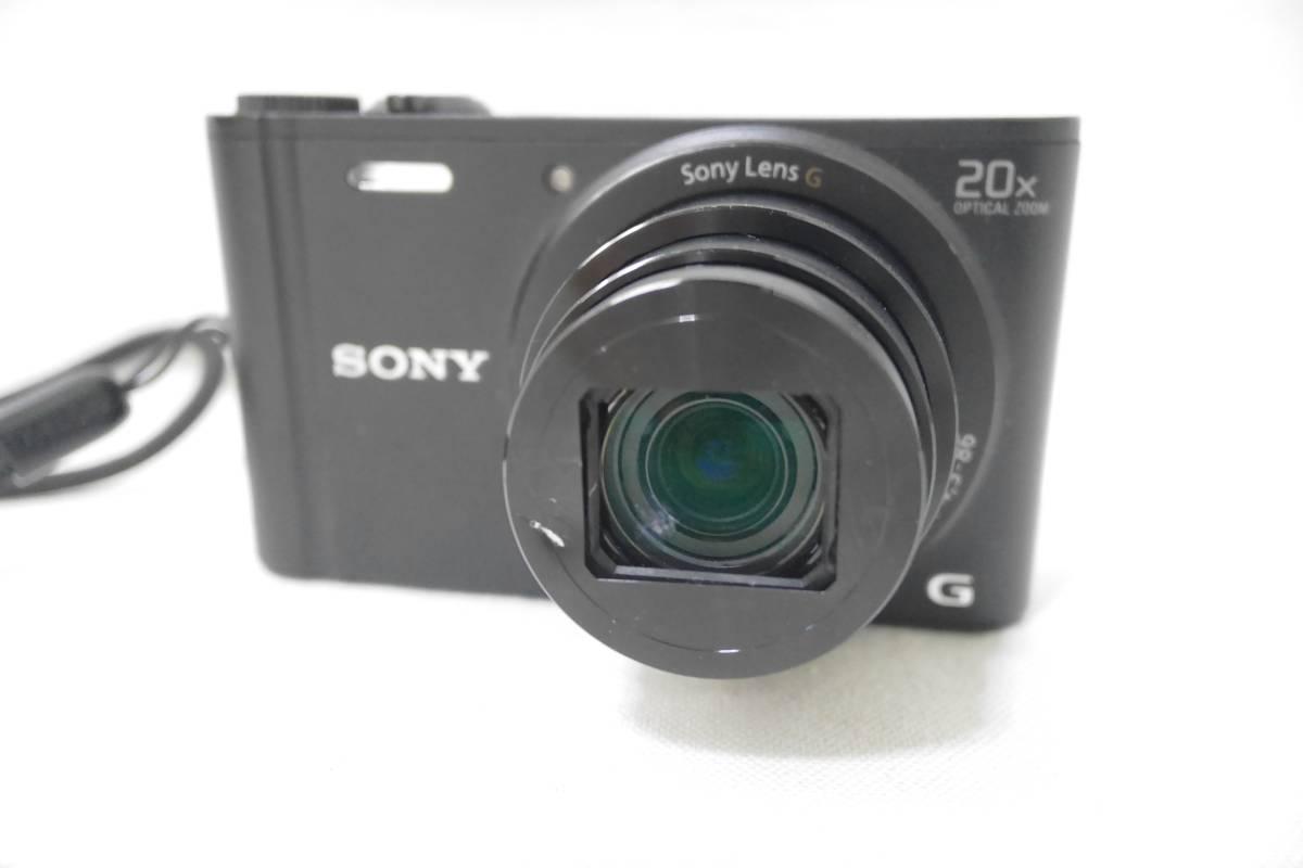 ソニー SONY デジタルカメラ Cyber-shot WX350 光学20倍 ブラック DSC-WX350-B_画像2