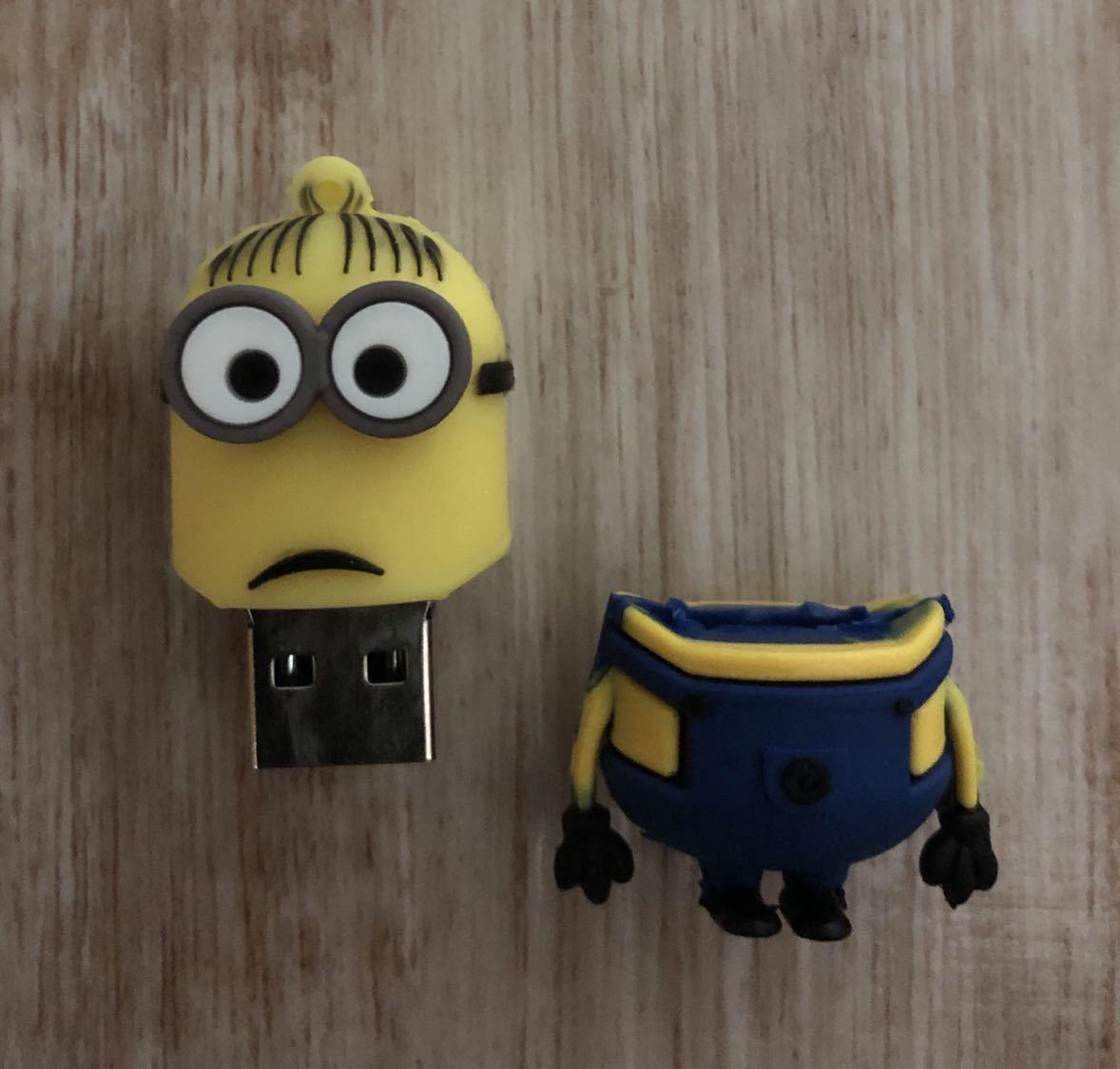 ミニオン 32GB USB メモリー_画像2