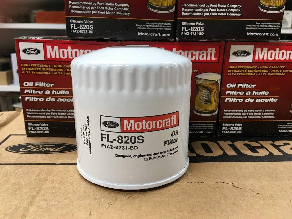 フォード純正 FL820S(PF1250) マーキュリー リンカーン マスタング f150 オイルフィルター エレメント タウンカー グランドマーキス ダッジ_画像1