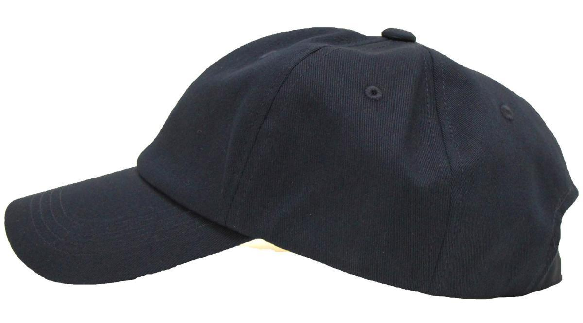 【58~61cmサイズ調節可能】NYC6パネルローキャップ Low cap 大きいサイズ帽子★ネイビー★新品_画像3