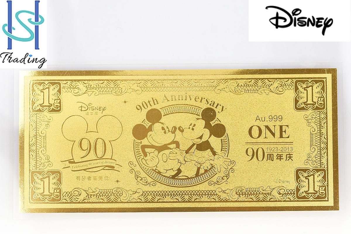 【SH33354】即決~ディズニー K24 ディズニーダラー ミッキーマウス ミニーマウス【人気】【中古】