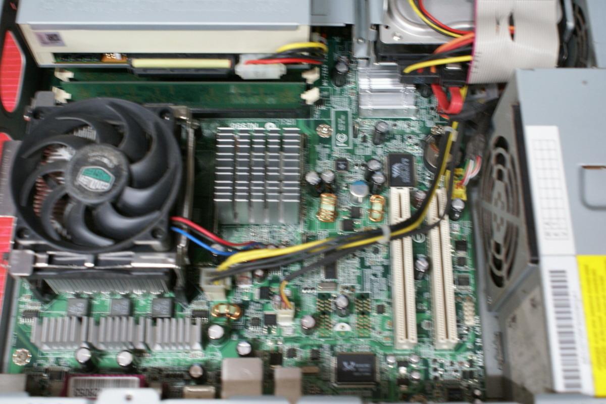 ■ジャンク扱い■NEC Mate MJ30V/R (Pen4 531/512MB/80GB/COMBO/XP Home)_画像3