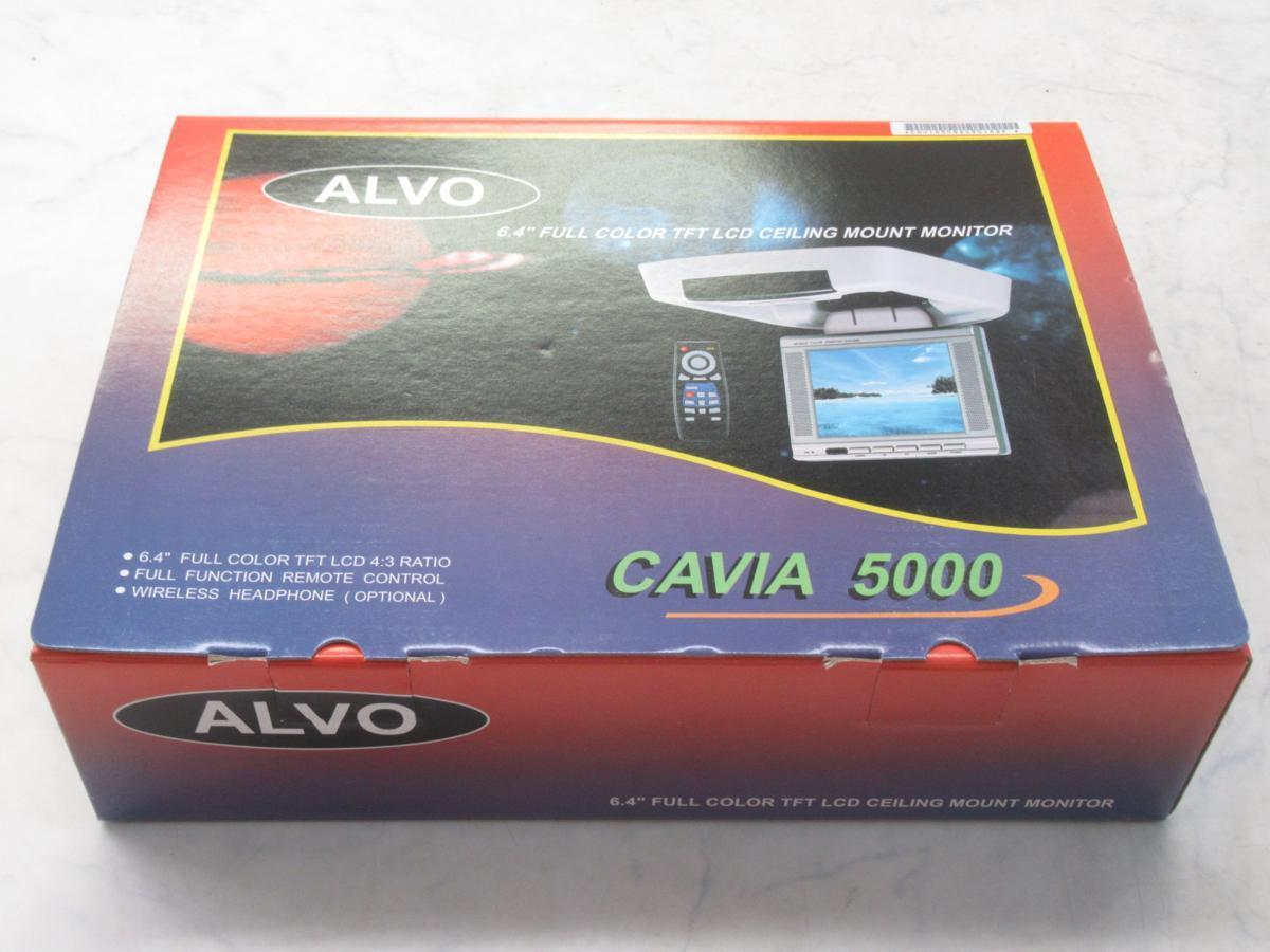 ALVOフリップダウンモニター(CAVIA 5000)未使用品(ジャンク)_画像1