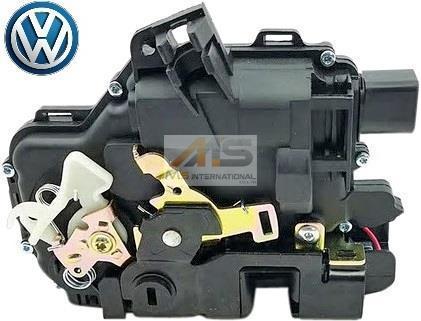 【M's】VW ボーラ/ゴルフ4(1J) パサート(3B) 純正品 リア ドアロックアクチュエーター (左側) 1個//正規品 リヤ 3B4-839-015A 3B4839015A_画像1