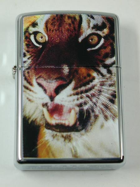 Zippo Tiger (虎・タイガー)純正・ とらUSA#250・新品2003_画像2