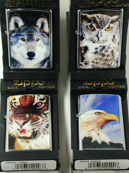 Zippo Tiger (虎・タイガー)純正・ とらUSA#250・新品2003_画像3