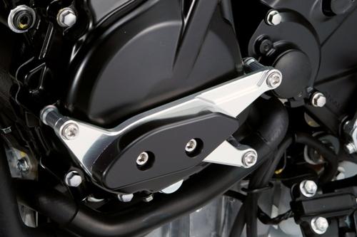 GSX-S750 ABS レーシングスライダー 4点セット! クランクタイプ+ジェネレーターAタイプ+フレームタイプ アグラス(AGRAS)_画像2
