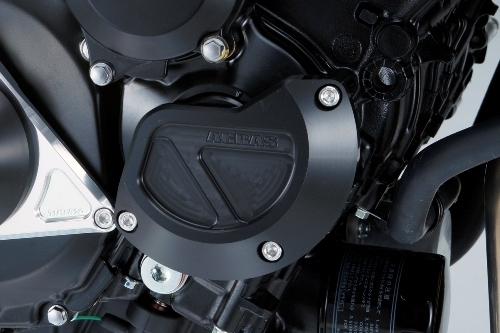 GSX-S750 ABS レーシングスライダー 4点セット! クランクタイプ+ジェネレーターAタイプ+フレームタイプ アグラス(AGRAS)_クランクタイプ!