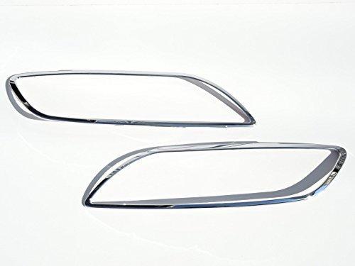 アウディ AUDI メッキ ヘッドライト ヘッドランプ リング リム Q7 Q7 2006~2015y OD_画像1