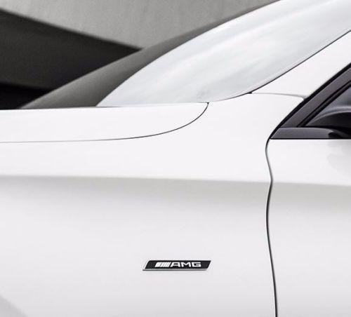 #■新品【ベンツ純正】AMG サイドエンブレム W166 C292 *その他モデルにも W177 W176 W169 C117 X117 W246 W245 X156 X204 X253 C253_画像3