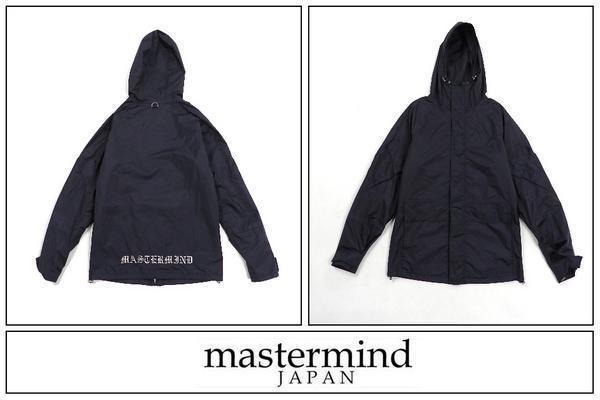 Z157■mastermind JAPAN マスターマインド■KNOCKOUT GORE-TEX ゴアテックス ジャケット S 黒■_画像1