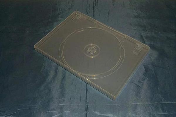 (サプライ) Mロック半透明DVDトールケース (小) 5ケースセット_画像1