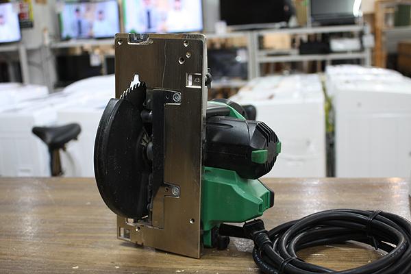 動作品!! 日立/HITACHI 深切り電子造作丸のこ C6UEY 電動工具 2015年製 100V 165㎜ 丸ノコ_画像4