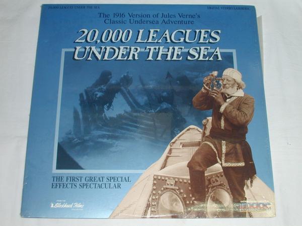 ★(LD)20,000 LEAGUES UNDER THE SEA[輸入版] 中古_画像1