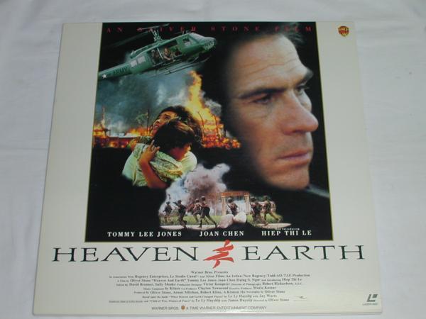 ★(LD)天と地 HEAVEN&EARTH 監督: オリバー・ストーン 中古_画像1