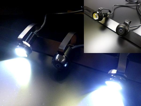 限定1/ナンバーステー & SMD照明付 CMOS バックカメラ ガイドライン有_画像3
