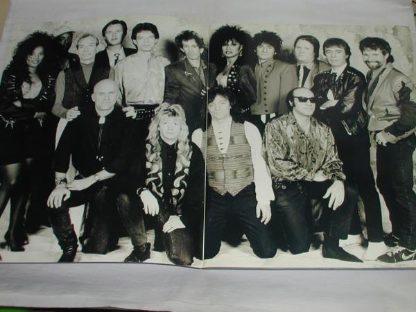 ★コンサートパンフ/ローリング・ストーンズ THE ROLLING STONES STEEL WHEELS TOKYO 1990 中古_画像3