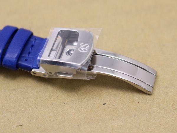 未使用品 グランドセイコー 純正 革ベルト&Dバックル クロコ 13mm レディース 【AW33】_画像4
