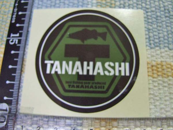 Tanahash/タナハシ/ロッドスタンド/スズキ/シーバス/ステッカー/シール ※ ヤフーショッピングストア/レア物商会・健美堂でも大量出品中!_画像1