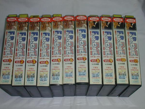 [VHS]F.B.EYEef* Be * I 1~11 all 11 volume set [ title ] used