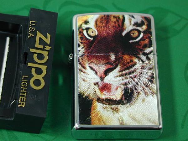 Zippo Tiger (虎・タイガー)純正・ とらUSA#250・新品2003_画像1