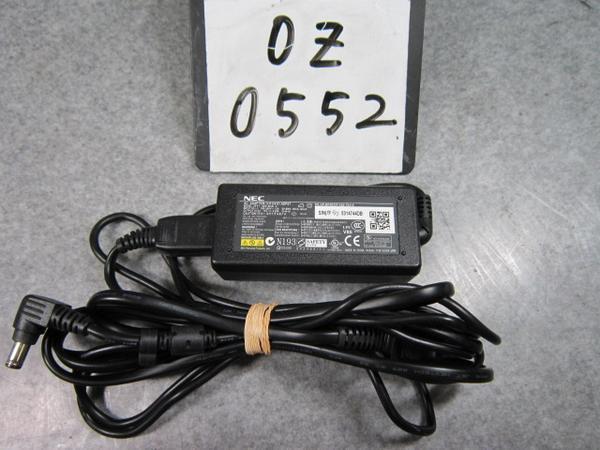 純正※NEC ACアダプタ ADP67 PC-VP-BP40 15V 3.33A※動作保証