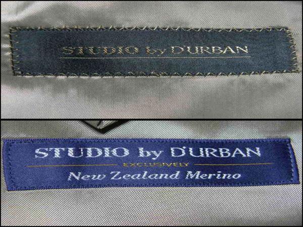 新品 ダーバン × Zque 【ニュージーランドメリノ 日本製】 スーツ A6 春夏 ★261976_画像4