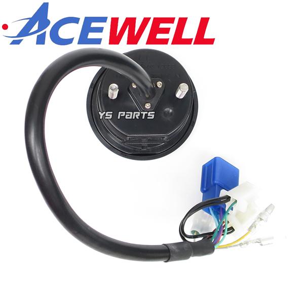 [正規品]ACEWELL完全防水マルチメーター SR400/TW200/TW225/セロー225/セロー250/WR250R/WR250F/XT250X[17種の機能]純正メーターギヤ使用可_画像3