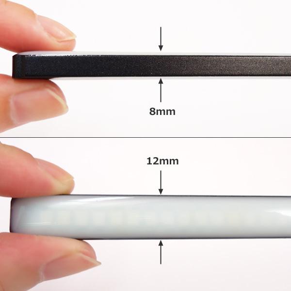 メール便 LED 計72連 シーケンシャル 流れる ウインカー 薄型 スティック デイライト 2個 レッド/アンバー リアマーカー 汎用[P]/c22_画像5