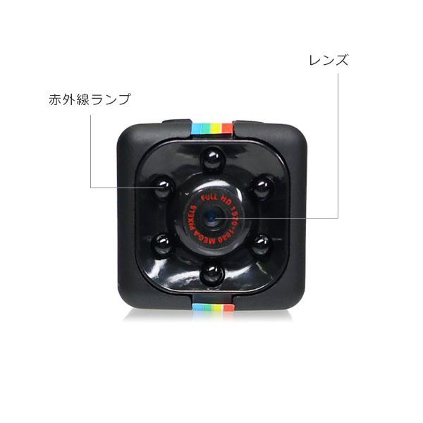 超小型DVカメラ USB充電 高画質FullHD TFカード対応 動体検知 暗視 広角 循環録画/12д_画像2