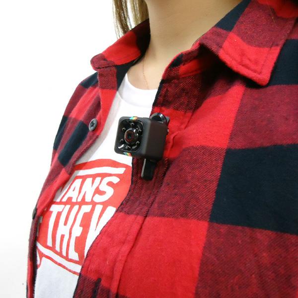 超小型DVカメラ USB充電 高画質FullHD TFカード対応 動体検知 暗視 広角 循環録画/12д_画像9