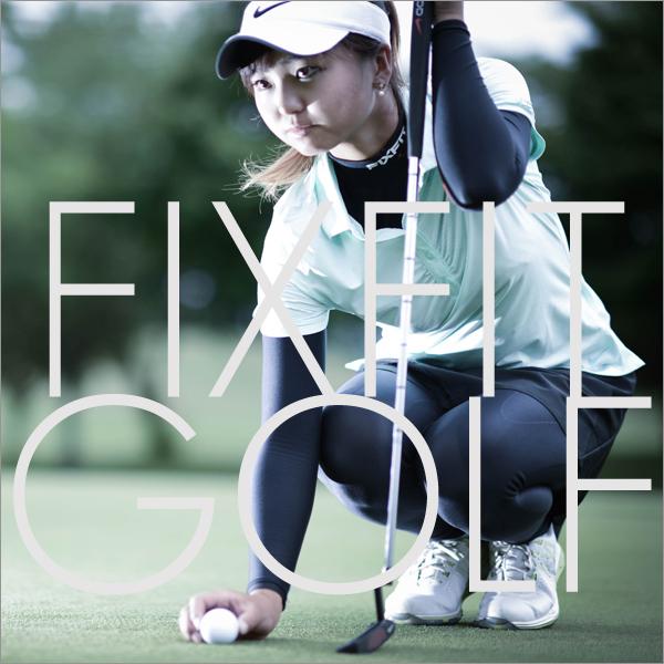 ゴルフ飛距離伸ばす加圧インナーメンズFIXFIT SPRINT ACW-X02 メンズM F1_FIXFIT pants