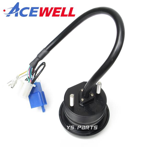 [正規品]ACEWELL完全防水マルチメーター SR400/TW200/TW225/セロー225/セロー250/WR250R/WR250F/XT250X[17種の機能]純正メーターギヤ使用可_画像2