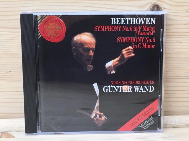 中古CD ギュンター・ヴァント ベートーヴェン交響曲第6番「田園」&第5番「運命」 NDR交響楽団 輸入盤/YAE326_画像1