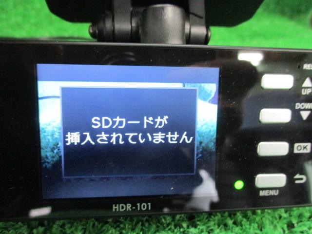 316189★【COMTEC コムテック/HDR-101】ドライブレコーダー★電源OK_画像6