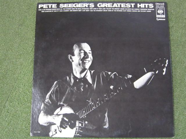 LP3389-ピート・シーガー PETE SEEGER'S GREATEST HITS_画像2