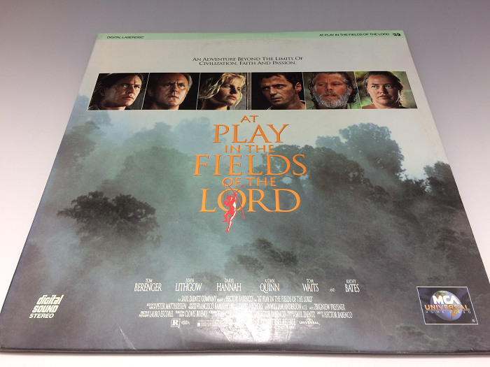 At Play in the Fields of the Lord 輸入盤 ◆2枚組LD(レーザーディスク)_画像1