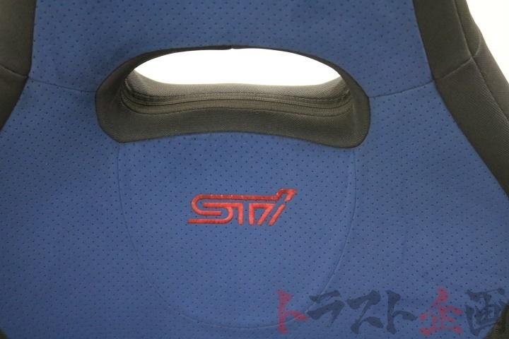 4286202 純正 STI シート 助手席 インプレッサ D型 GDB 2003 V-Limited トラスト企画_画像5