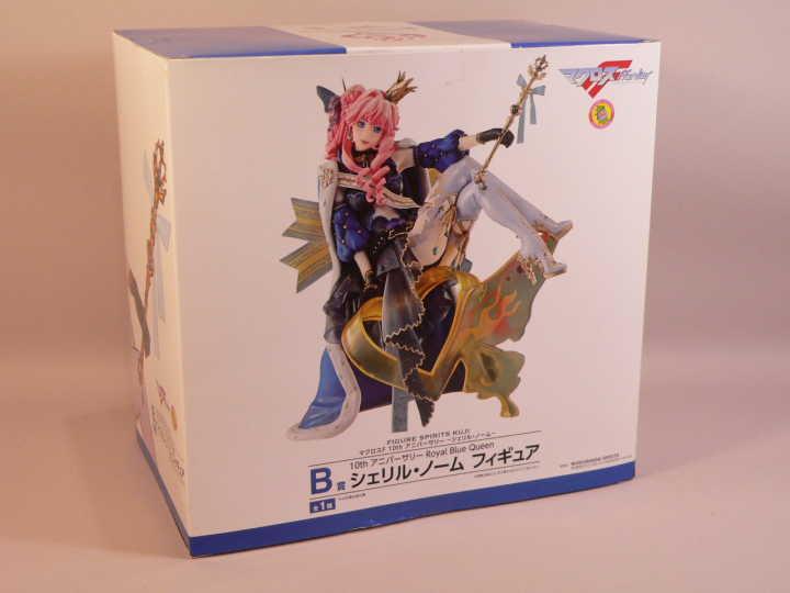 (toy) FIGURE SPIRITS KUJI マクロスF 10th アニバーサリー B賞 Royal Blue Queen シェリル・ノーム フィギュア 全1種_画像5