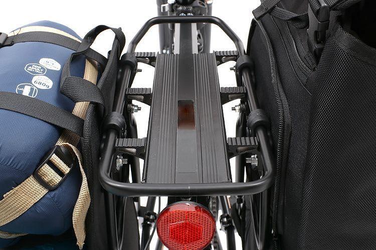 即決新品☆容量35L★自転車に積載することができる背負子型バックパック★リュックサック★パニアバッグ★大容量★サイドバックパック_画像10