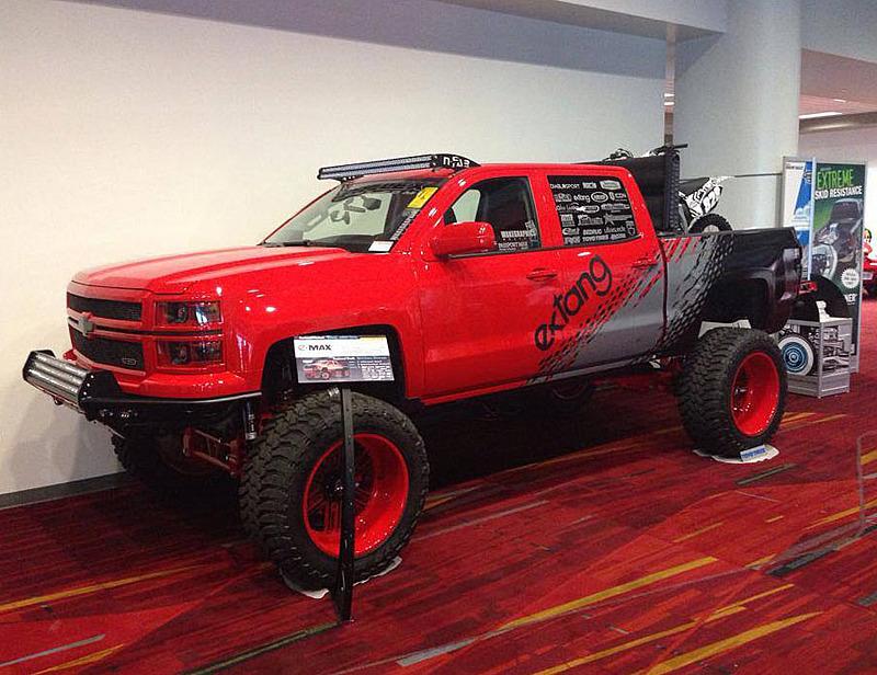 Bulletproof バレットプルーフ 2014-2019 シボレーシルバラード/GMC シエラ 1500 2WD/4WD 10-12インチ リフトアップキット_画像3
